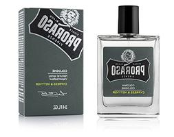 Proraso Eau De Cologne, Cypress and Vetyver, 3.4 fl oz