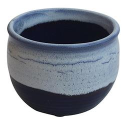 DEAL OF THE DAY - AB Handicrafts Sky Blue Dark Blue Pottery