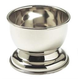 GBS Stainless Shaving Soap Bowl Cup - Fits up to 3 oz Soap C