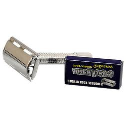 double edge safety razors with 5 blades