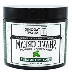 Taconic Shave EUCALYPTUS & MINT Naturally Slick Shaving Crea
