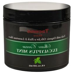 Taconic Shave EUCALYPTUS & MINT Shaving Cream, Creates a Ric
