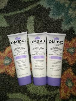 Cremo french Lavender  Shave Cream 3 Tube Pack