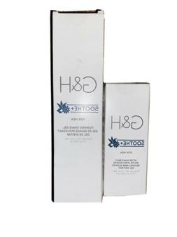 g and h soothe foaming shave gel