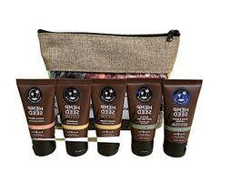 Earthly Body 5 Piece Travel Gift Set ~ Bath and Shower Gel,