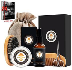 XIKEZAN 8 in 1 Mens gifts for Men Beard Care Growth Grooming
