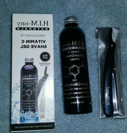 H.I.M-istry Vitamin C Shave Gel Cream For Men 8.oz Plus Stra