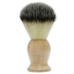 Bassion Hand Crafted 100% Pure Badger Shaving Brush with Har