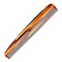 "Kent 3T 6 1/2"" 160mm Handmade Dressing Comb Coarse and Fine"