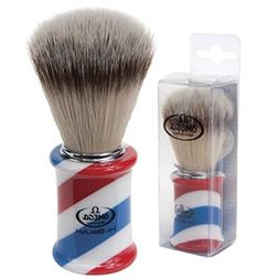 Omega Hi Brush Barber Pole Shaving Shave Soft High Tech Synt