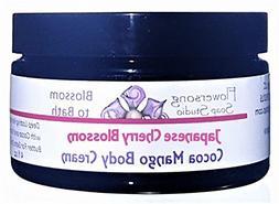 Flowersong Japanese Cherry Blossom Cocoa Mango Body Cream -