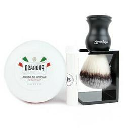 kengsington synthetic bristle wet shaving brush