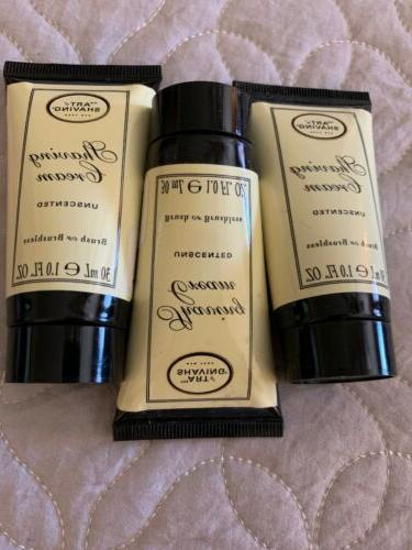 3 pack of shaving cream unscented 30