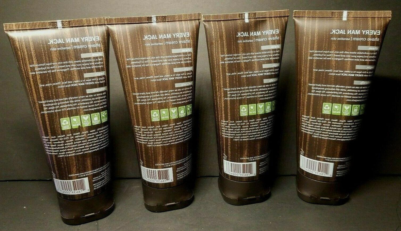 4 Pack EVERY JACK Cream 6.7floz/200mL Ea SENSITIVE Free