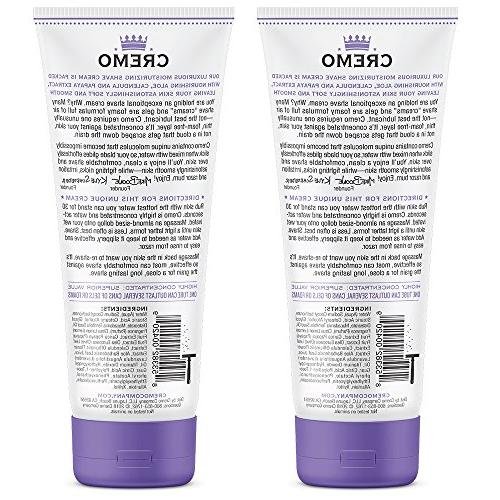 Cremo French Lavender Shave Cream, Astonishingly Fights Nicks, And Razor 6 2-Pack