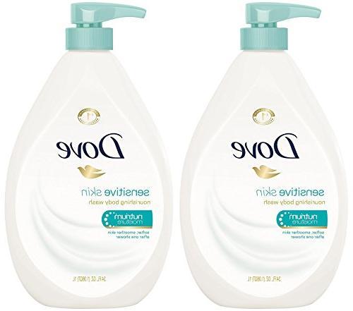 Dove Body Wash Sensitive Skin Pump 34 Ounce