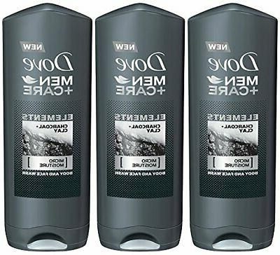 Dove Men Care Elements Body Wash Charcoal