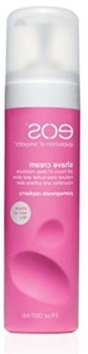 EOS Shave Cream, Pomegranate Raspberry, 7 oz