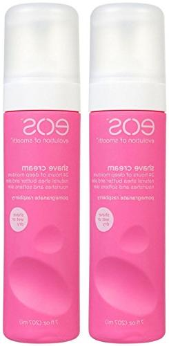 EOS Ultra Moisturizing Shave Cream-Pomegranate Raspberry-7 o