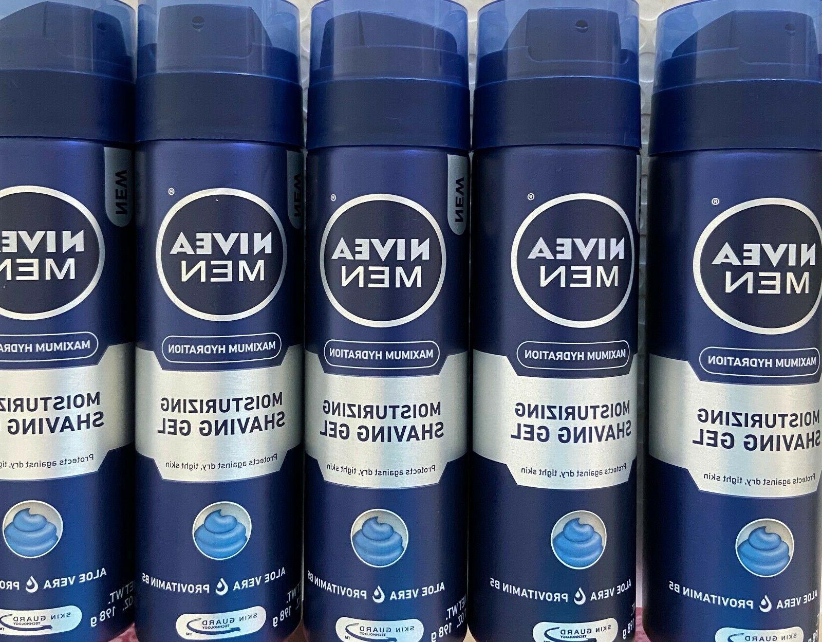 NIVEA Men Maximum Hydration Moisturizing Shaving Gel 7 Ounce