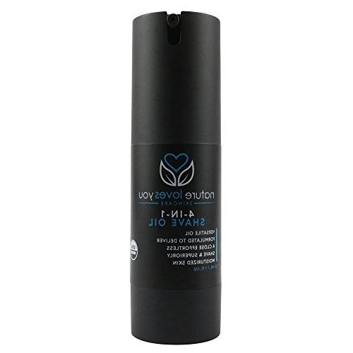 Loves 1 , USDA Organic works a Aftershave Balm, and Facial Moisturizer