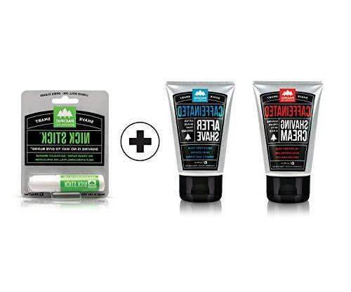 Pacific Shaving Company Caffeinated Shaving Set Plus Nick St