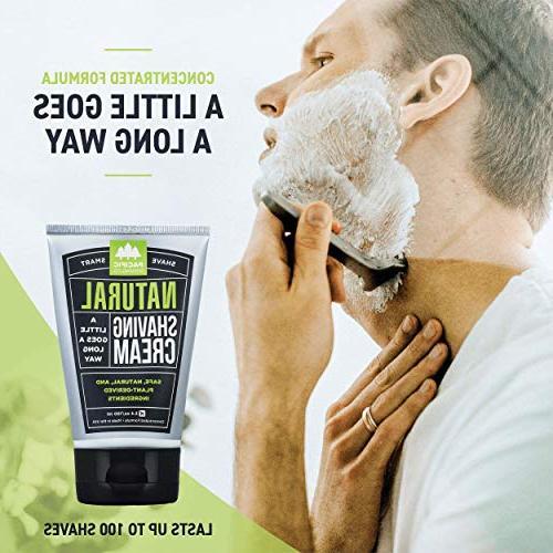 Pacific Shaving Natural Shaving Cream, 6 Pack