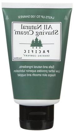 Pacific Shaving Company Natural Shaving Cream, 3.4 Ounce