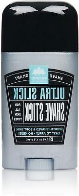 Pacific Shaving Company Ultra Slick Shave Soap Stick, 1 Pack