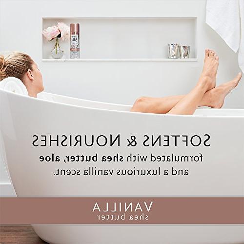 Pure Silk Vanilla Butter Spa Shave Cream for Women, 7.25 oz.