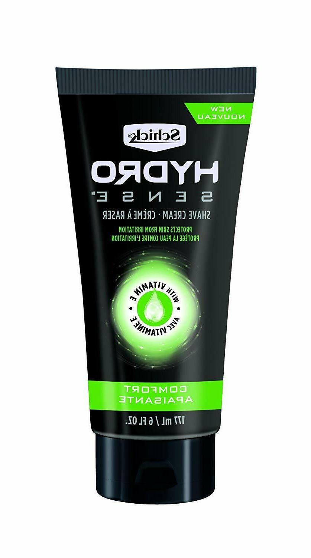 Schick Hydro Sense Shave Cream - Comfort - With Vitamin E -