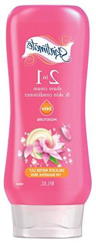 Skintimate 2-In-1 Moisturizing, Sensitive Skin Shave Cream f