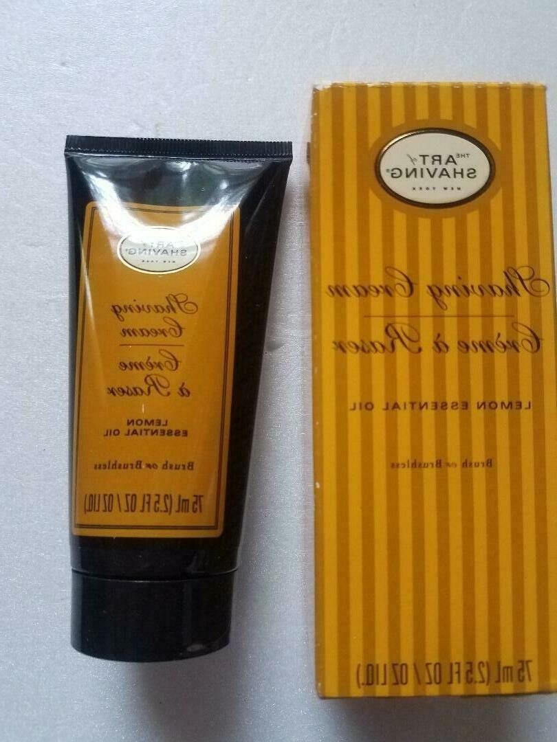 The Art of Shaving Shaving Cream, Lemon 2.5 oz