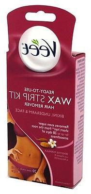 Veet Wax Strips Hair Remover - 20 ct