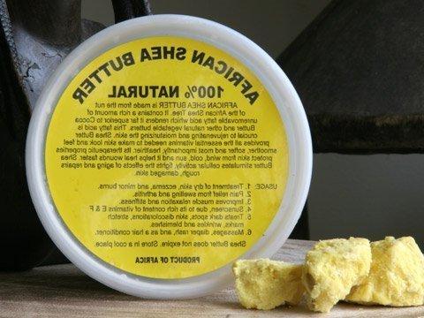 african shea butter cream raw