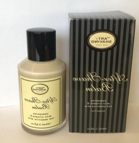 after shave balm unscented essential oil alcohol