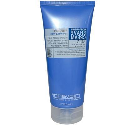 Giovanni Fragrance Free and Aloe Shave Cream, 7 Ounce -- 1 e