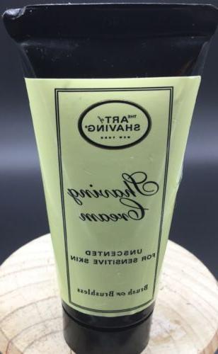 art of shaving shaving cream unscented shaving