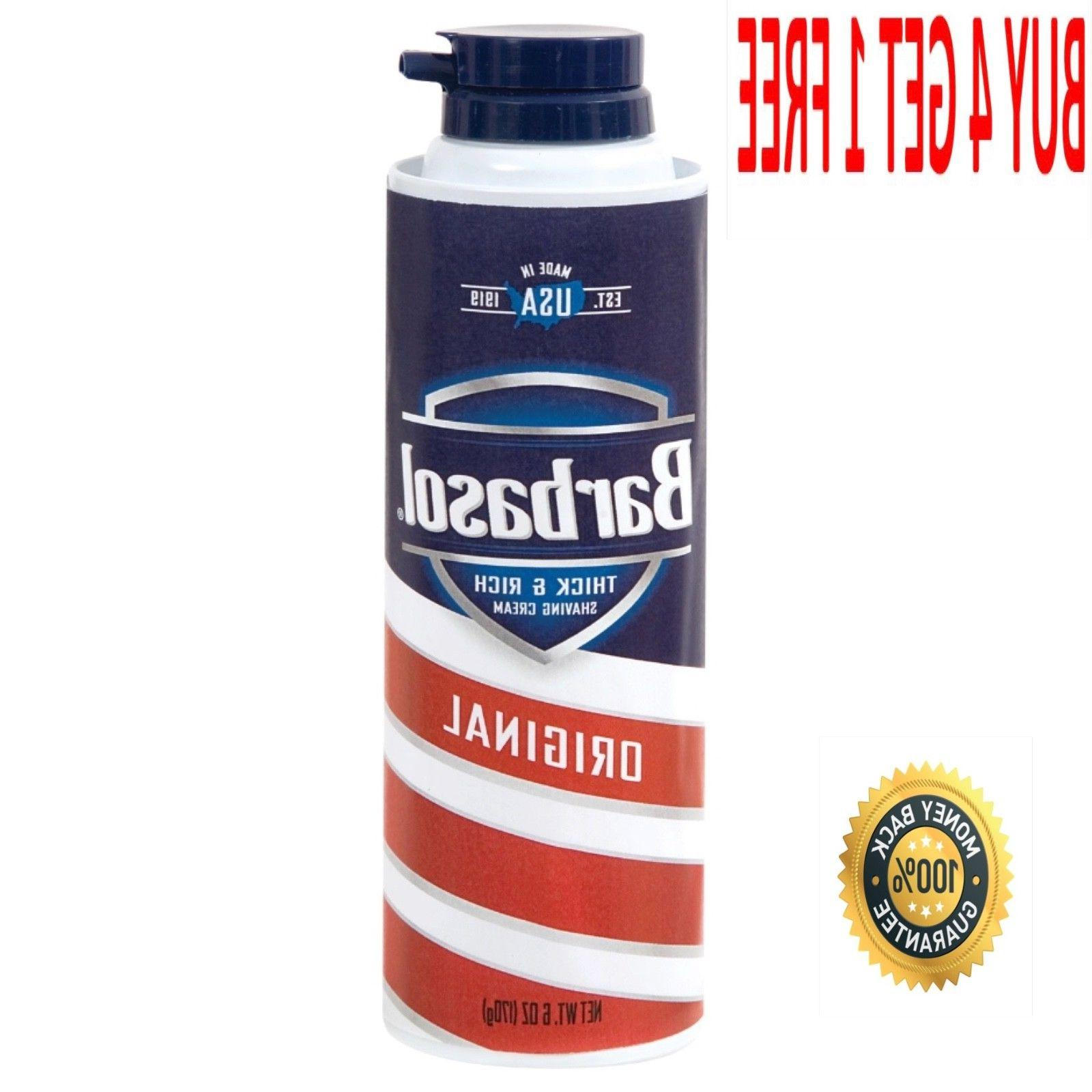 barbasol original shaving 6 oz cans 5