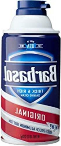 Barbasol Pacific Rush with Caffeine and Menthol Shaving Crea