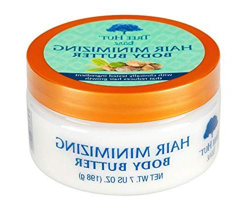Tree Hut bare Hair Minimizing Body Butter, 7oz, Essentials f