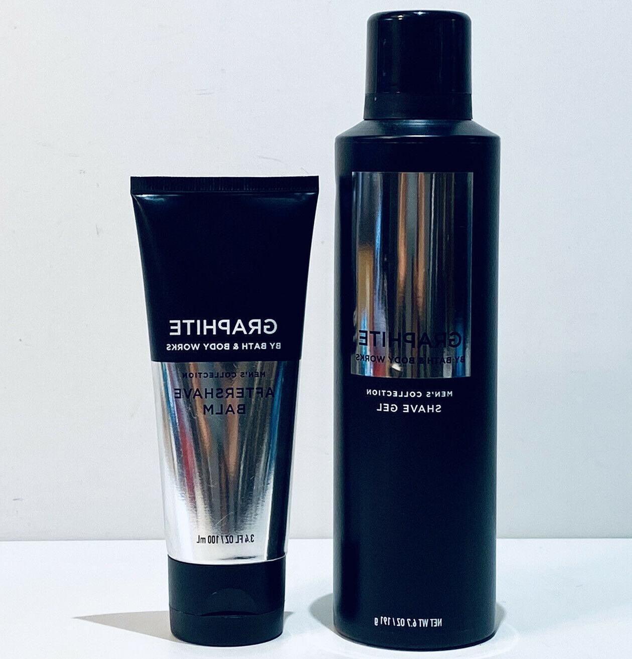 Bath & Body GRAPHITE Shaving Duo 6.7oz Shave 3.4oz