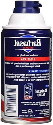 Barbasol Beard Buster Shaving Cream Original 10 OZ