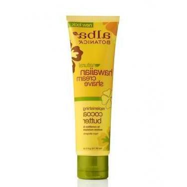 Alba Botanicals Cocoa Butter Moist Shave Cream