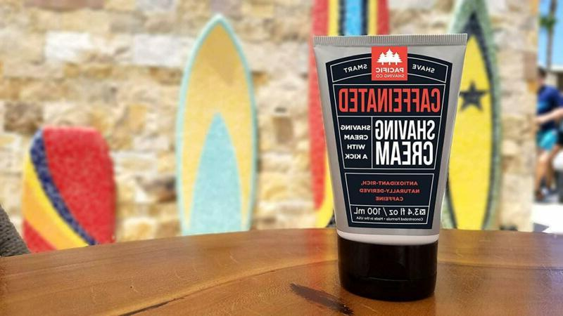 Pacific Company Caffeinated Shaving Cream - Reduce