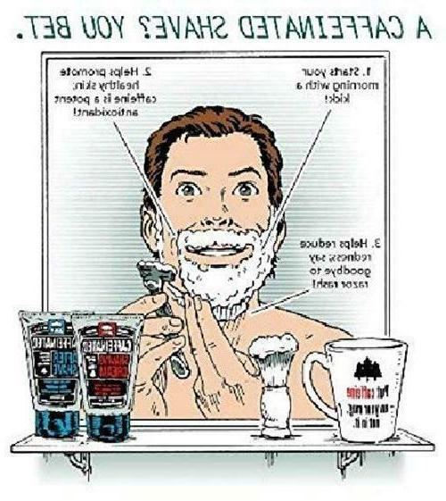 Pacific Caffeinated Shaving Reduce Of