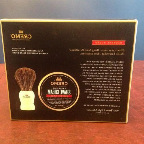 Cremo Classic Kit - Reserve Lathering Shave Brush