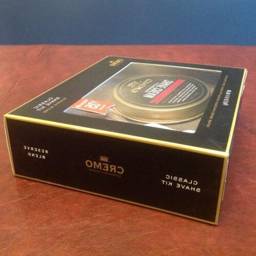 Cremo Classic - Reserve Blend Shave Cream & Brush