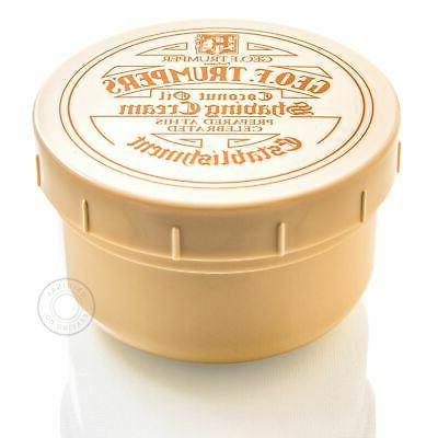 coconut oil soft shaving soap pot 200g