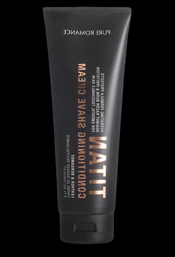 conditioning shave cream titan men s coochy